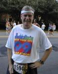 Bob in the Peachtree 10K, 2000